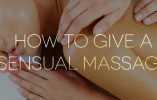 The Art of Giving a Sensual Massage