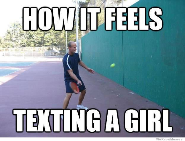 getting a girl to text you