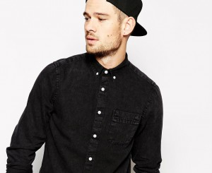 man asos black