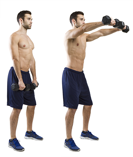 Side Lateral To Front Raise