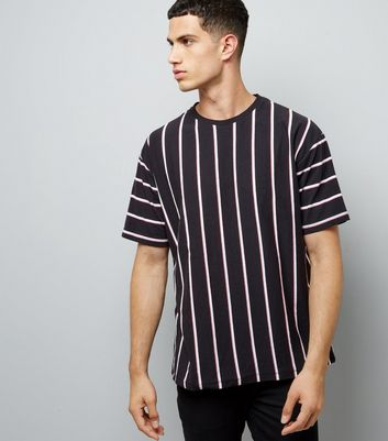black-vertical-stripe-t-shirt